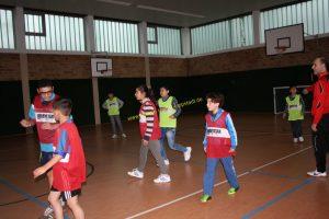 Fußball - Aktion für Flüchtlinge, wöchentlich Sonntags